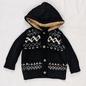 GAP Icelandic Style Hooded Sweater Sz 12-18mths
